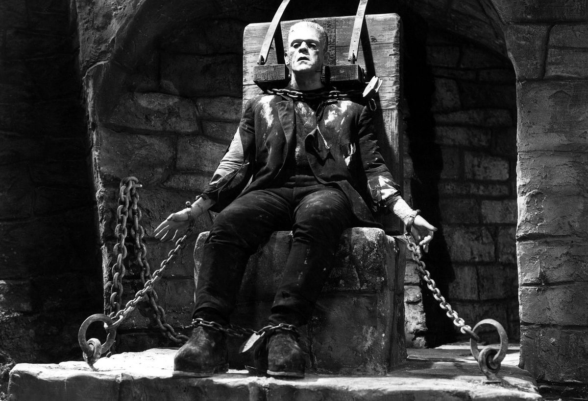 Frankenstein in Bride of Frankenstein (1935)